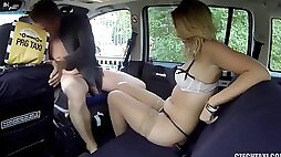 Czech taxi 19 ani black fox