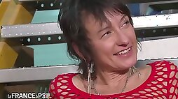 La France A Poil Busty Mature In Fishnet Anal Pounded