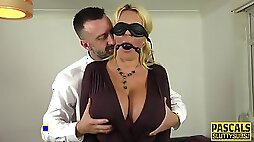 Whipped Bound Submissive Milf masturbating With Huge Tits Pascal White