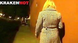 Blonde submissive mature in bdsm scene
