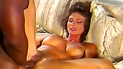 Lean and sexy white milf pounded doggy style position