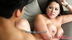 Hot Mexican mom
