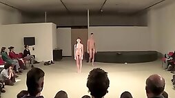 Naked on Stage Andrea Rowsell Presents Naked Dance in Teatro