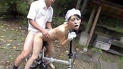 Superb hardcore nude porn scenes outdoors