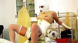 Rubber medical clinic
