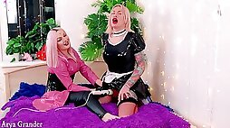 Trans French Maid Humiliated By Mistress