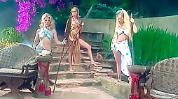 porn action with awesome models Missy Jenna Jameson and Avalon