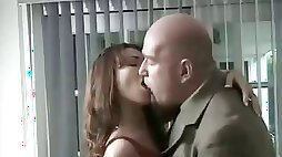 Slut rides large and thick cock in her bedroom