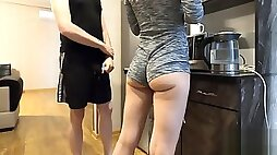 STEP SISTER CAUGHT PISSING HERSELF IN FRONT OF HER STEP BROTHER TIMES