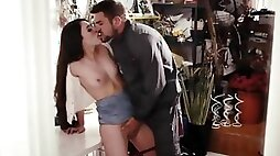 Lonely Cougar Orgasm with Stranger