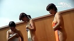 Naked Asian chicks giving unconscious erotic show dvd
