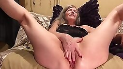 Mature Amateur MILF GILF PAWG Soles Up Hot Pussy Play Anal Tease Fingers Dildo Vibe Pt.