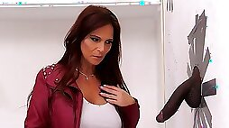 Detective Syren DeMer Has Anal With A Big Black Dick Gloryhole
